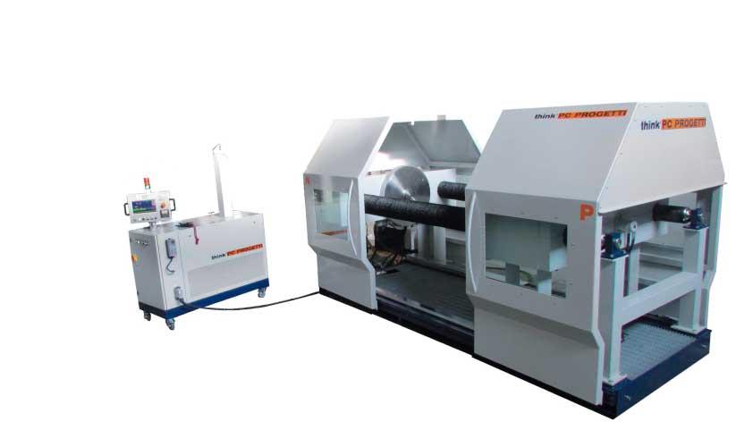 banco de pruebas horizontal para válvulas bo-2v450sh