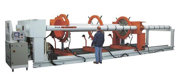 Banco de pruebas para tubos bot 2csv600