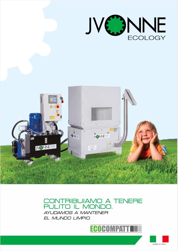 Catálogo compactadoras de viruta jvonne