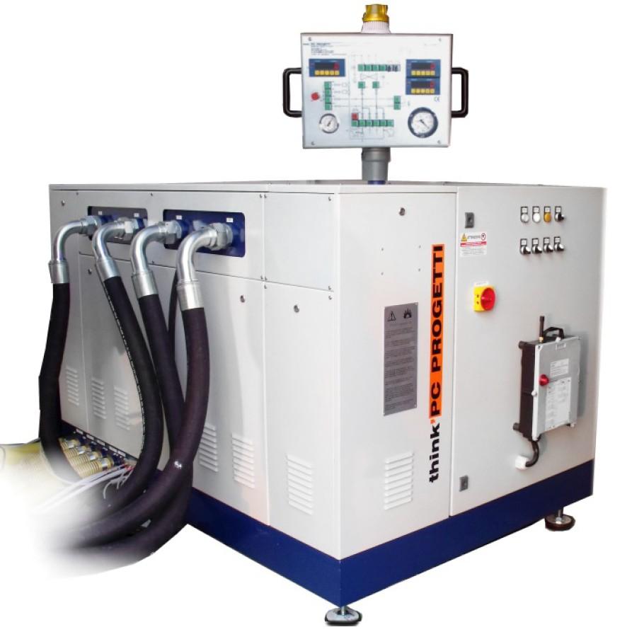Unidades de presurización para válvulas, tubos y actuadores