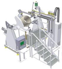 Unidad automática PTA robosfera