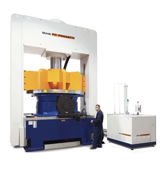 banco de pruebas vertical para válvulas bv-3v270