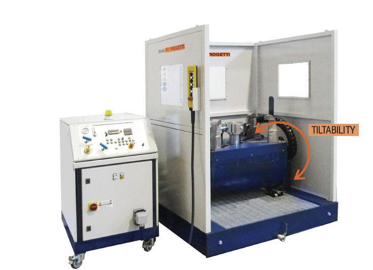 banco de pruebas vertical para válvulas bv-pmc500s