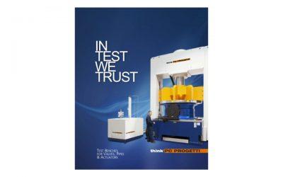 Nuevo catálogo de bancos de pruebas Think PC Progetti