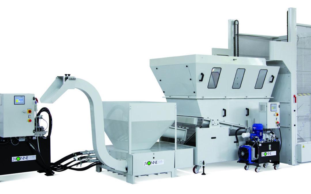 Sistema automático centralizado para la compactación de la viruta